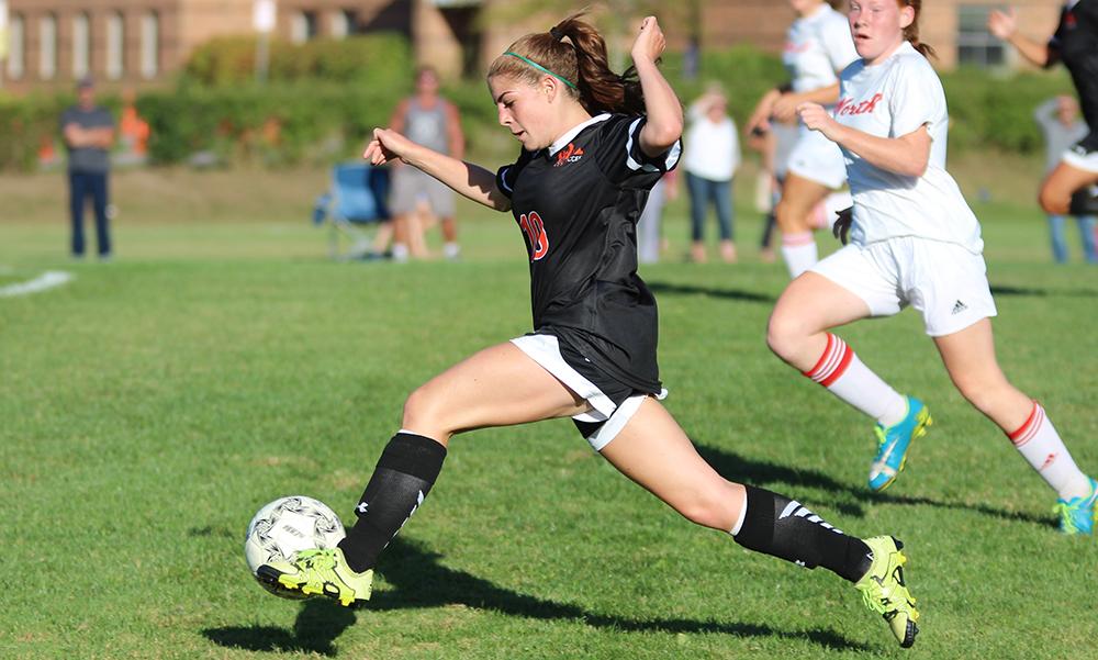 Oliver Ames girls soccer