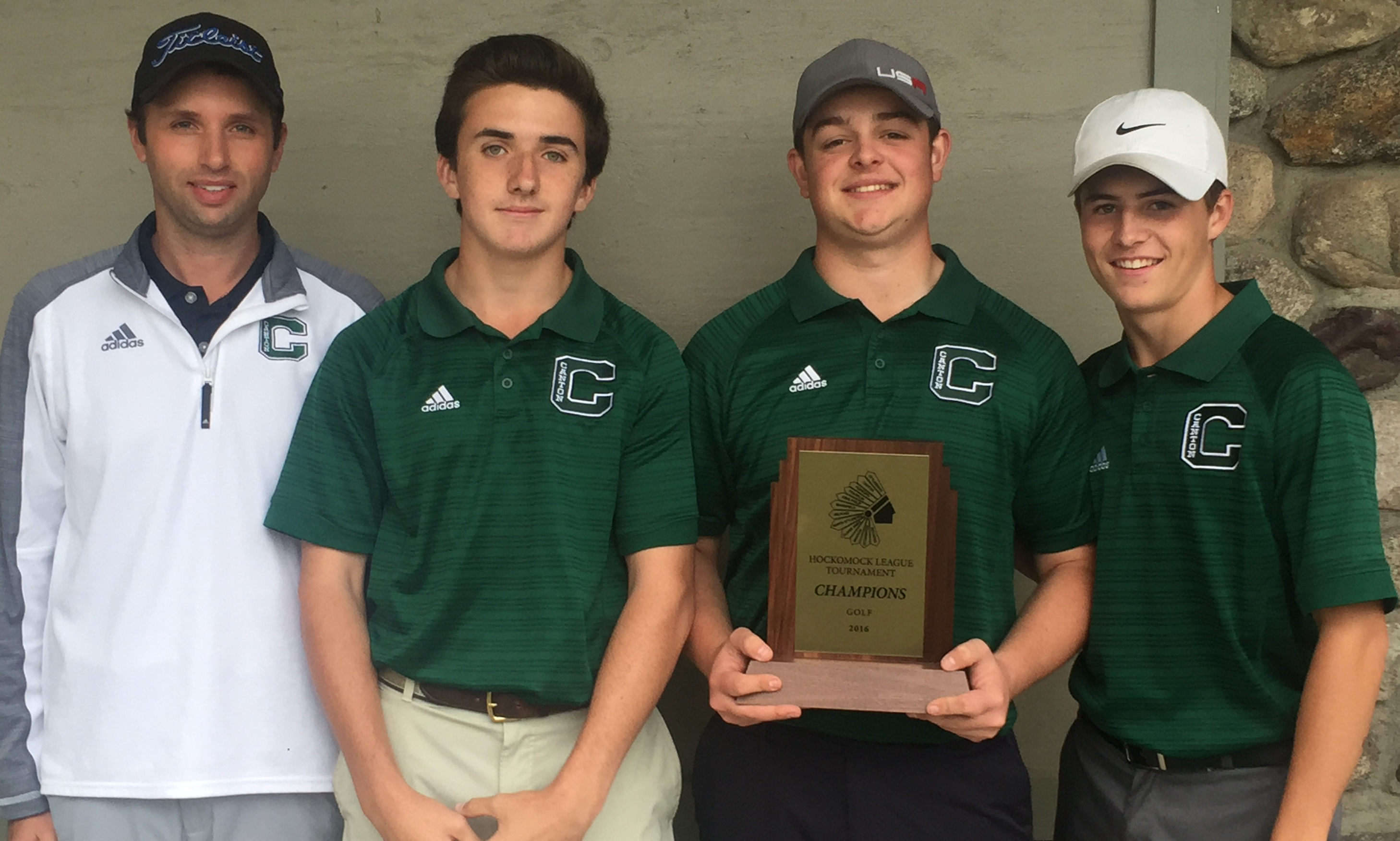 Hockomock League Golf Championship Results 2016