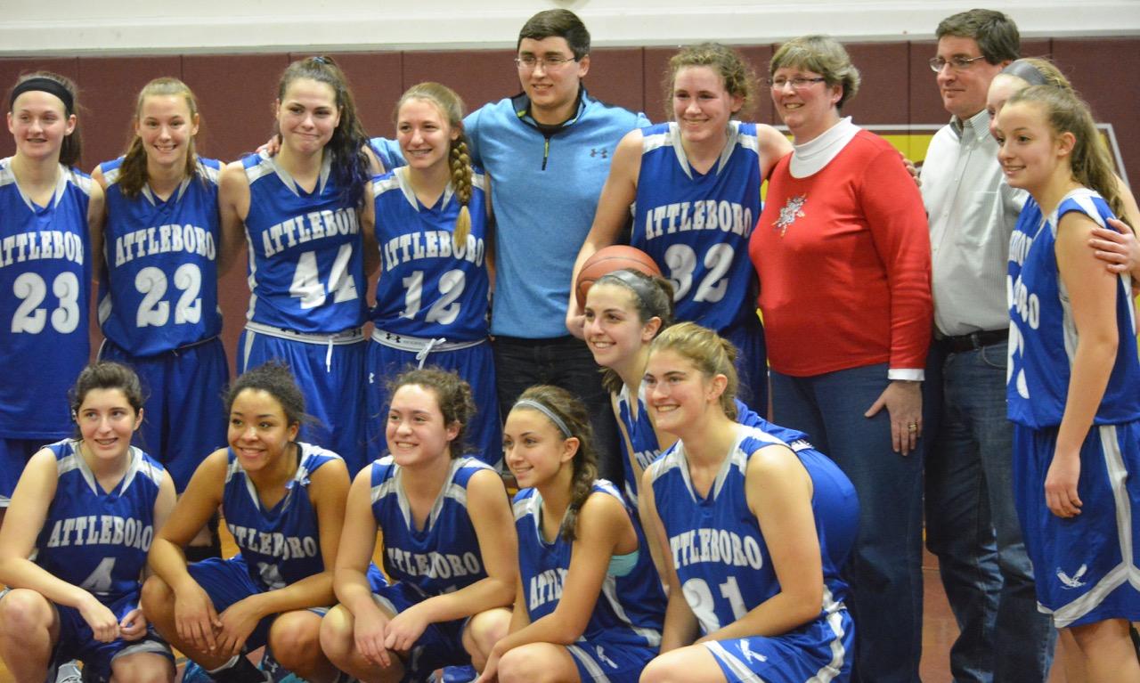 Attleboro girls basketball