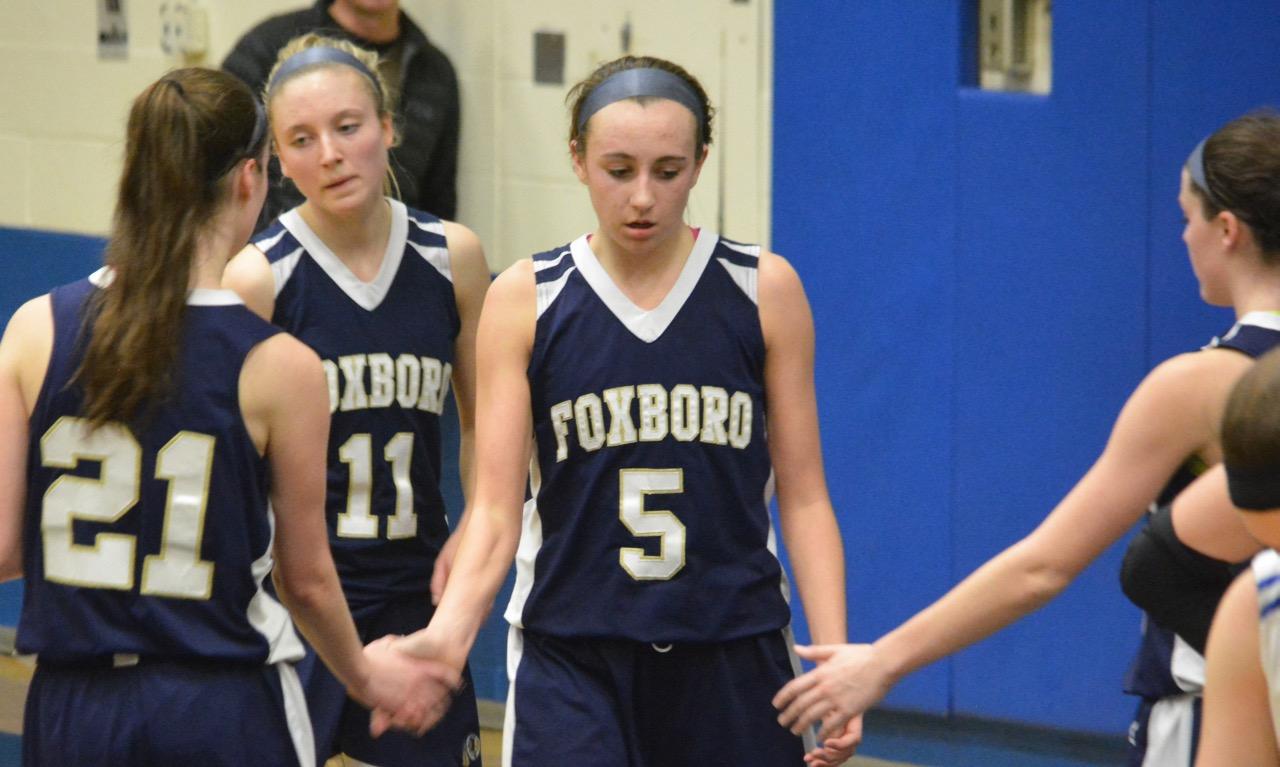 Foxboro girls basketball