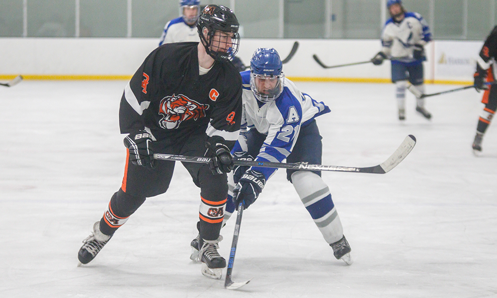 Oliver Ames Boys Hockey Ride Quick Start Strong Finish Past Attleboro