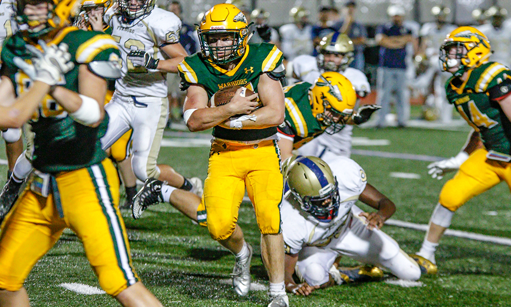 King Philip football Ryan Halliday