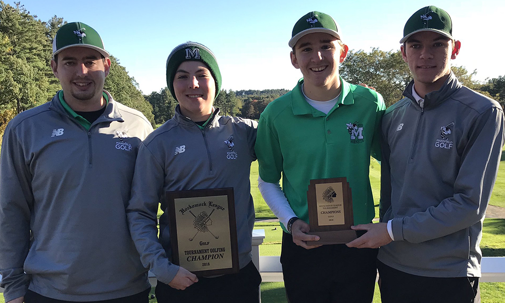 Hockomock League Golf Championship Results 2018
