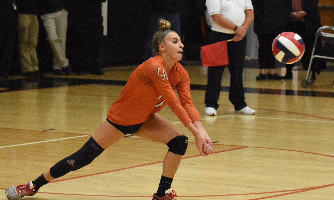 Oliver Ames volleyball