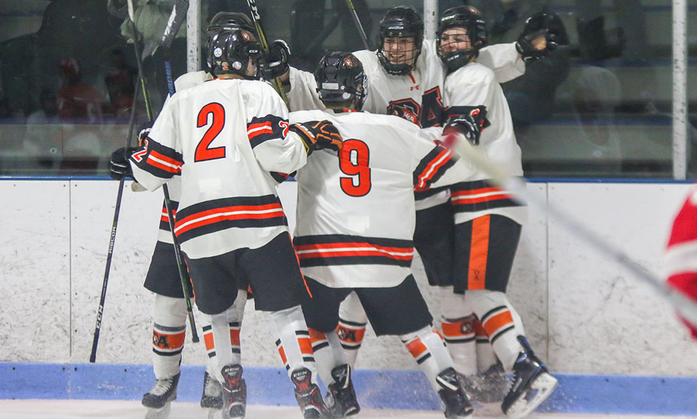 Oliver Ames boys hockey