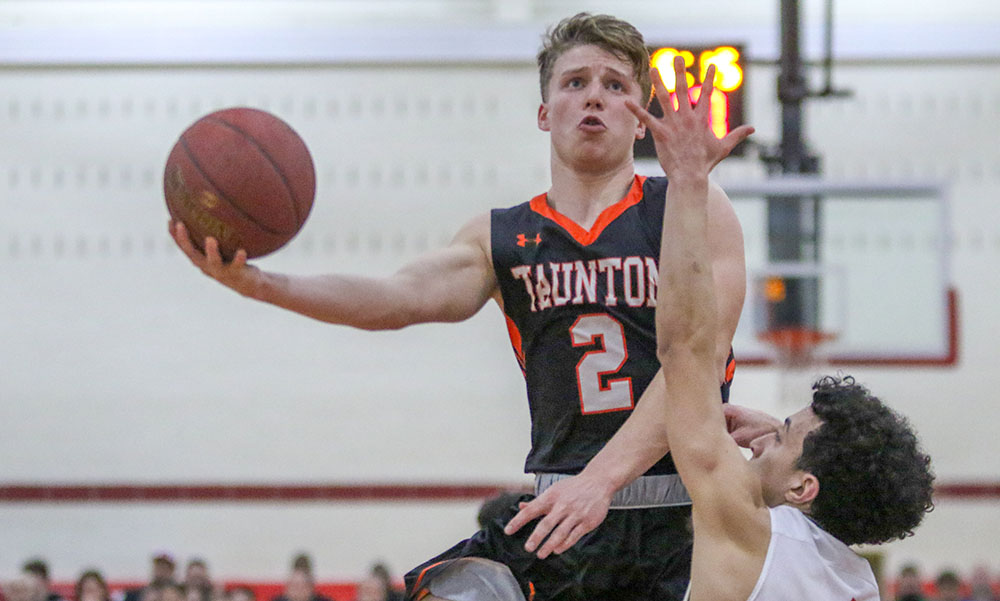 Taunton boys basketball Mike Quinn