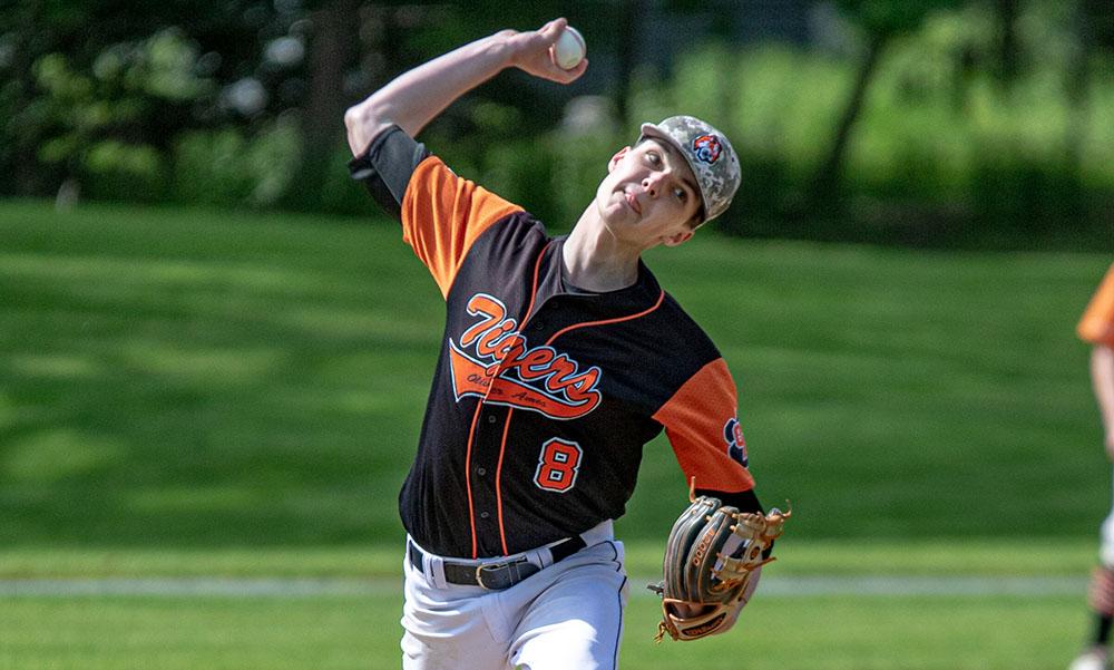 Oliver Ames baseball Reid Latham