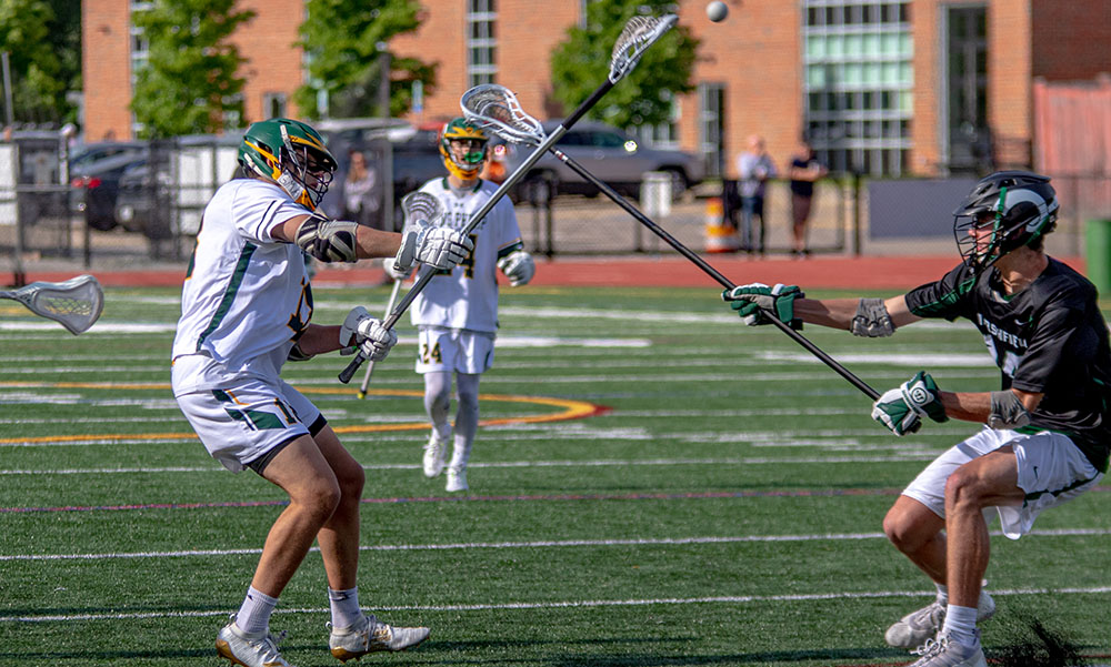 King Philip boys lacrosse Wes Bishop