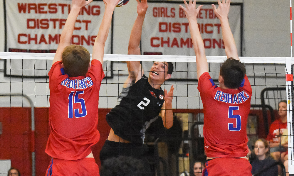 Milford boys volleyball