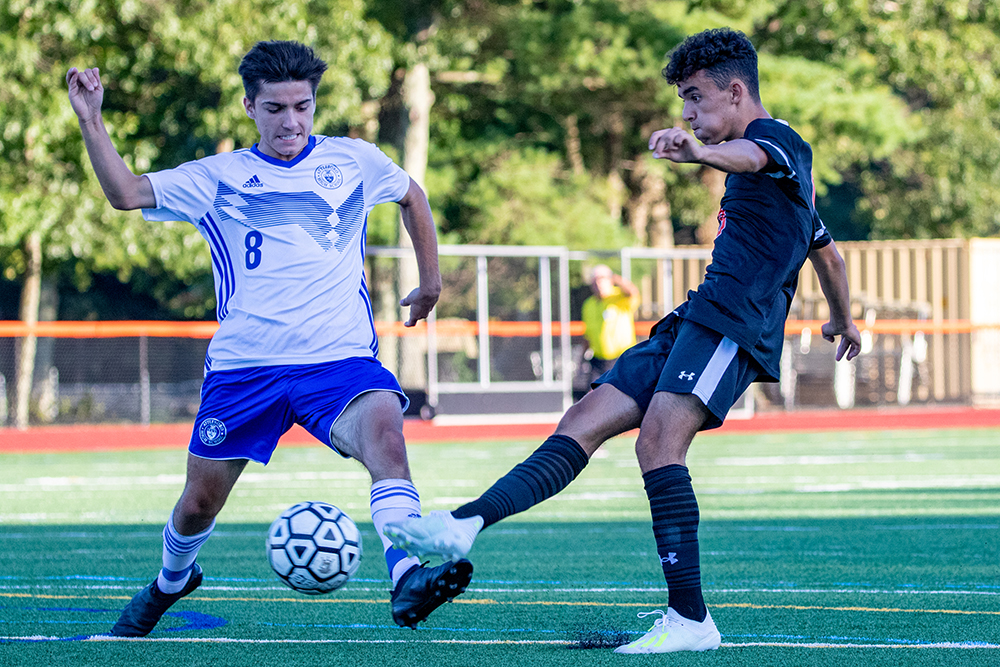 Oliver Ames boys soccer Anthony DaCosta