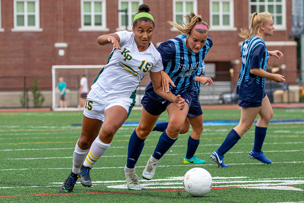King Philip girls soccer Chloe Layne