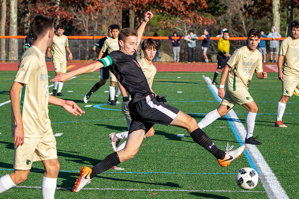 Oliver Ames boys soccer Jimmy Keane