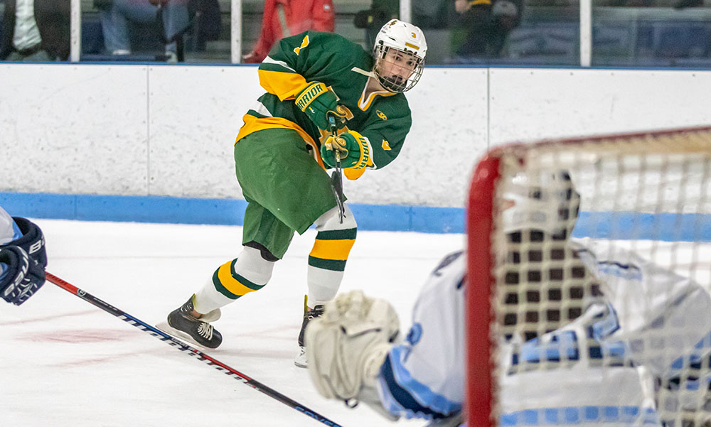 King Philip girls hockey Jen Daniels