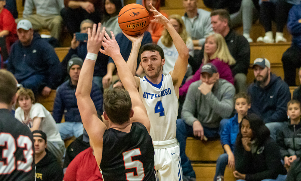 Attleboro boys basketball Tim Callahan