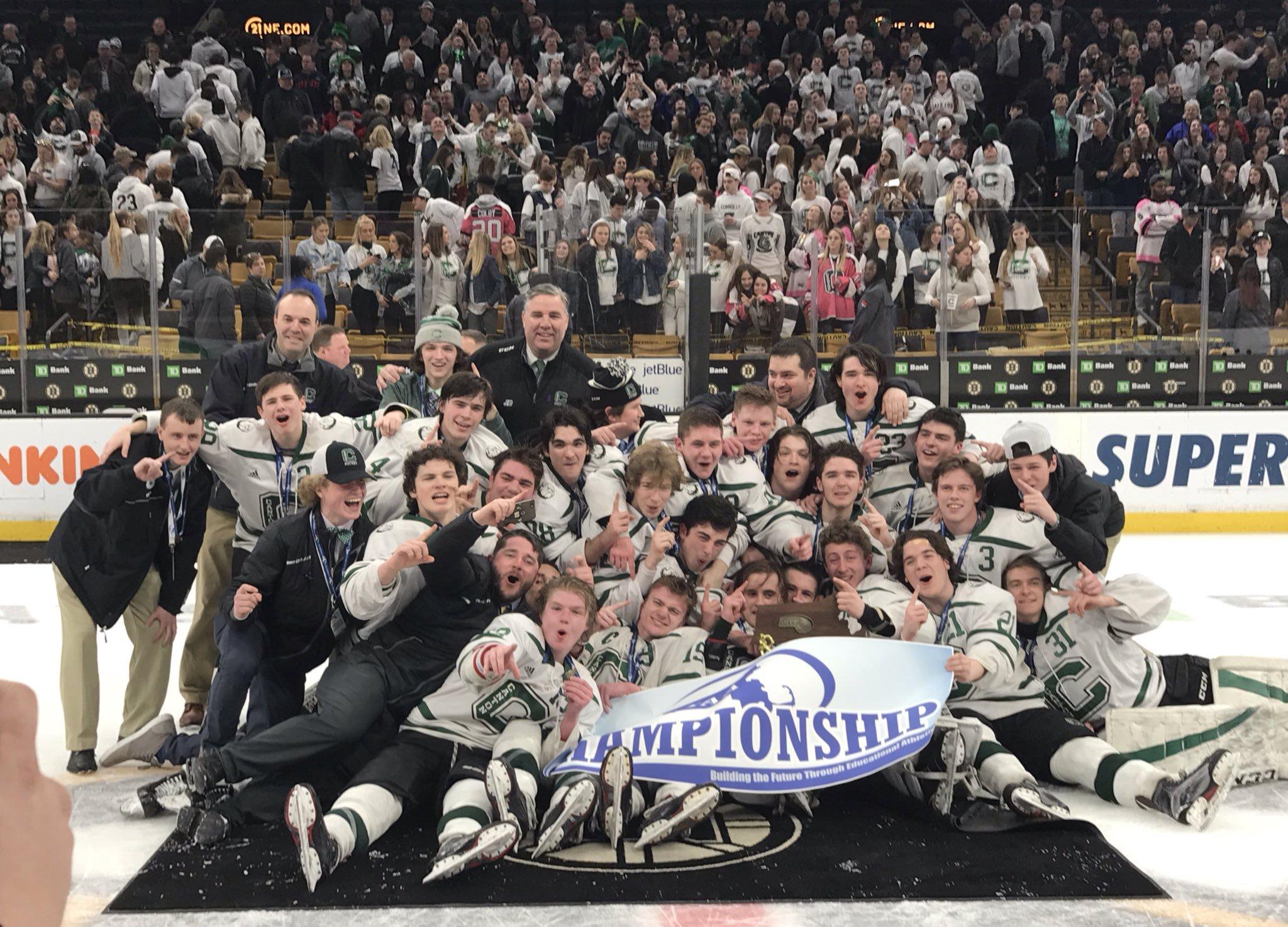 2018-2019 Canton Hockey Schedule