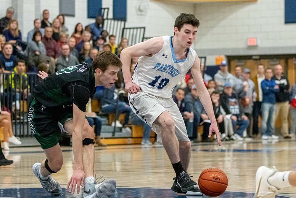 Franklin boys basketball Declan Walmsley