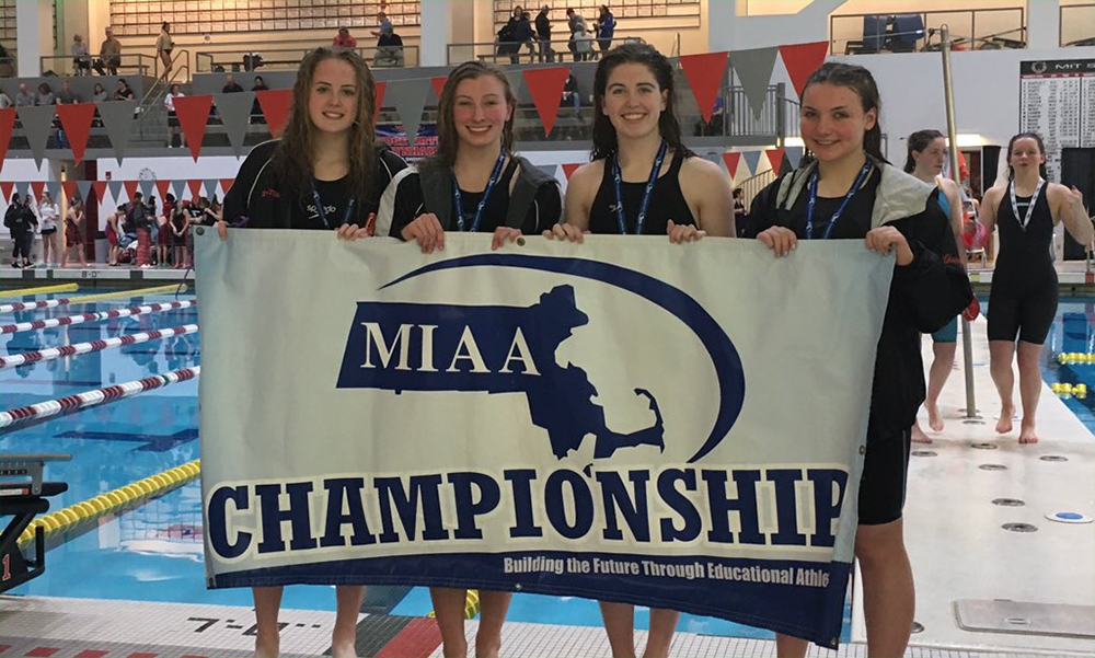 Oliver Ames girls swimming