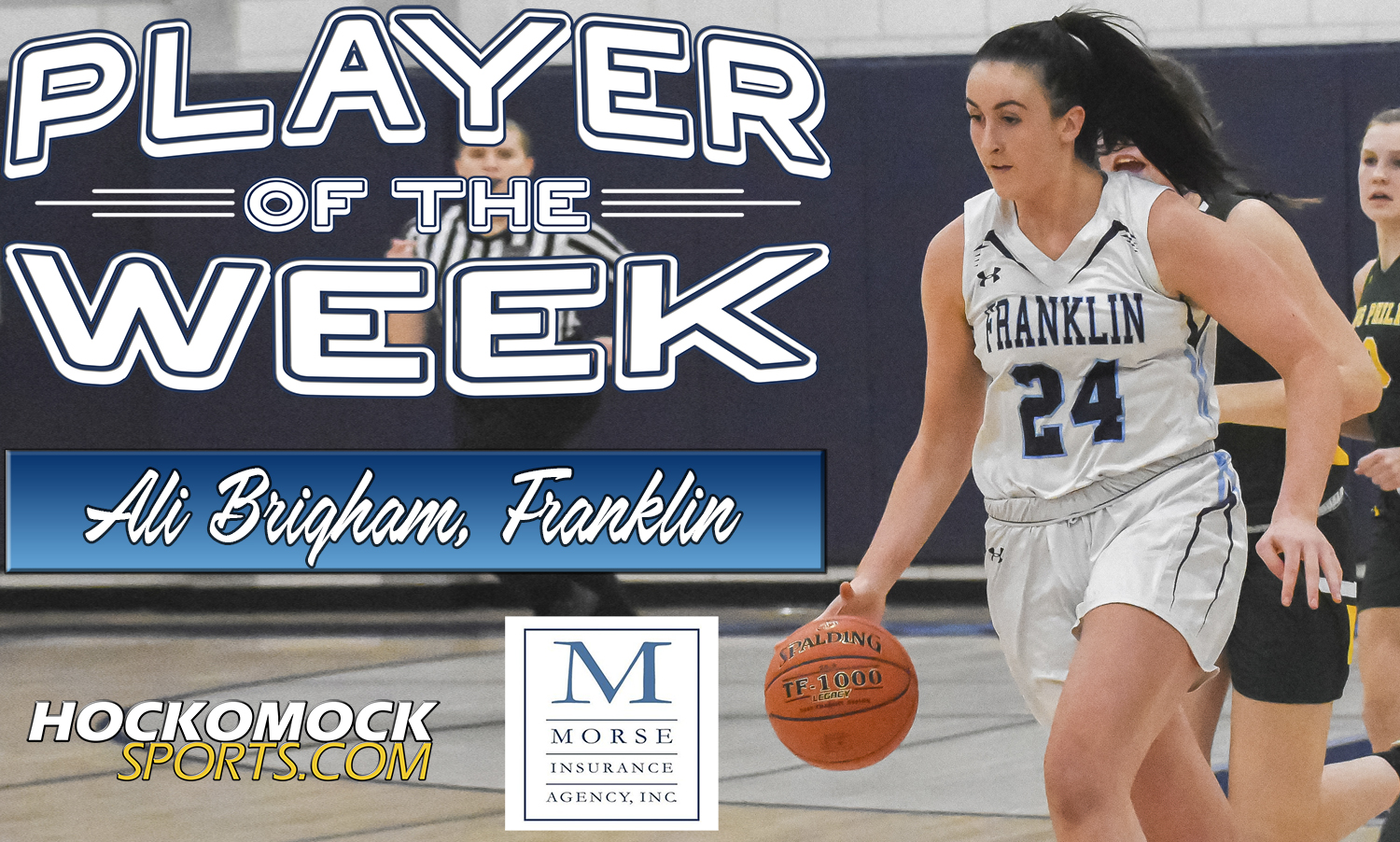 Player of the Week: Ali Brigham  (HockomockSports.com photo)
