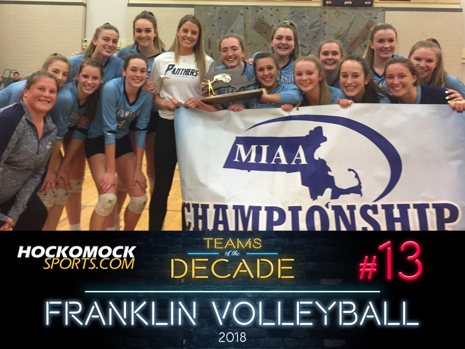 HockomockSports.com: Teams of the Decade #13: 2018 Franklin Volleyball