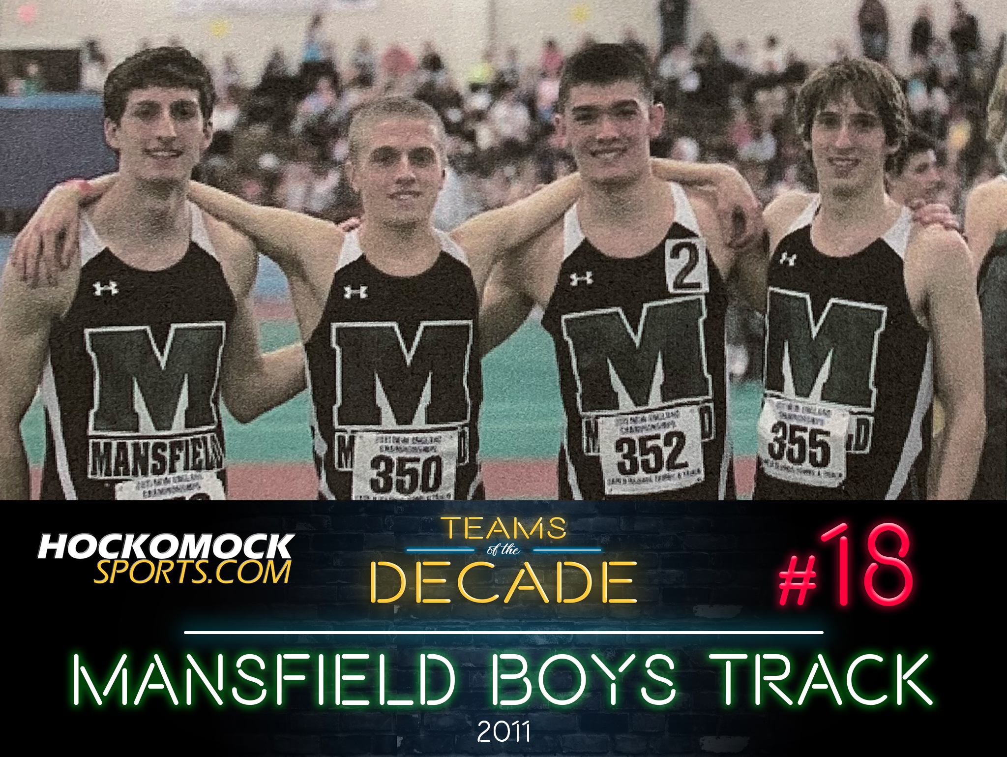 Mansfield boys indoor track