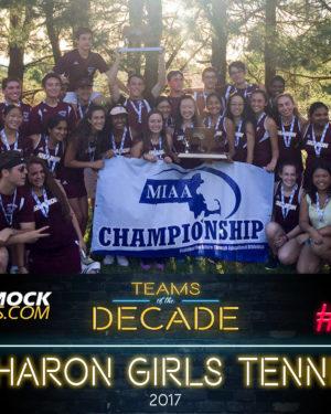 Sharon girls tennis