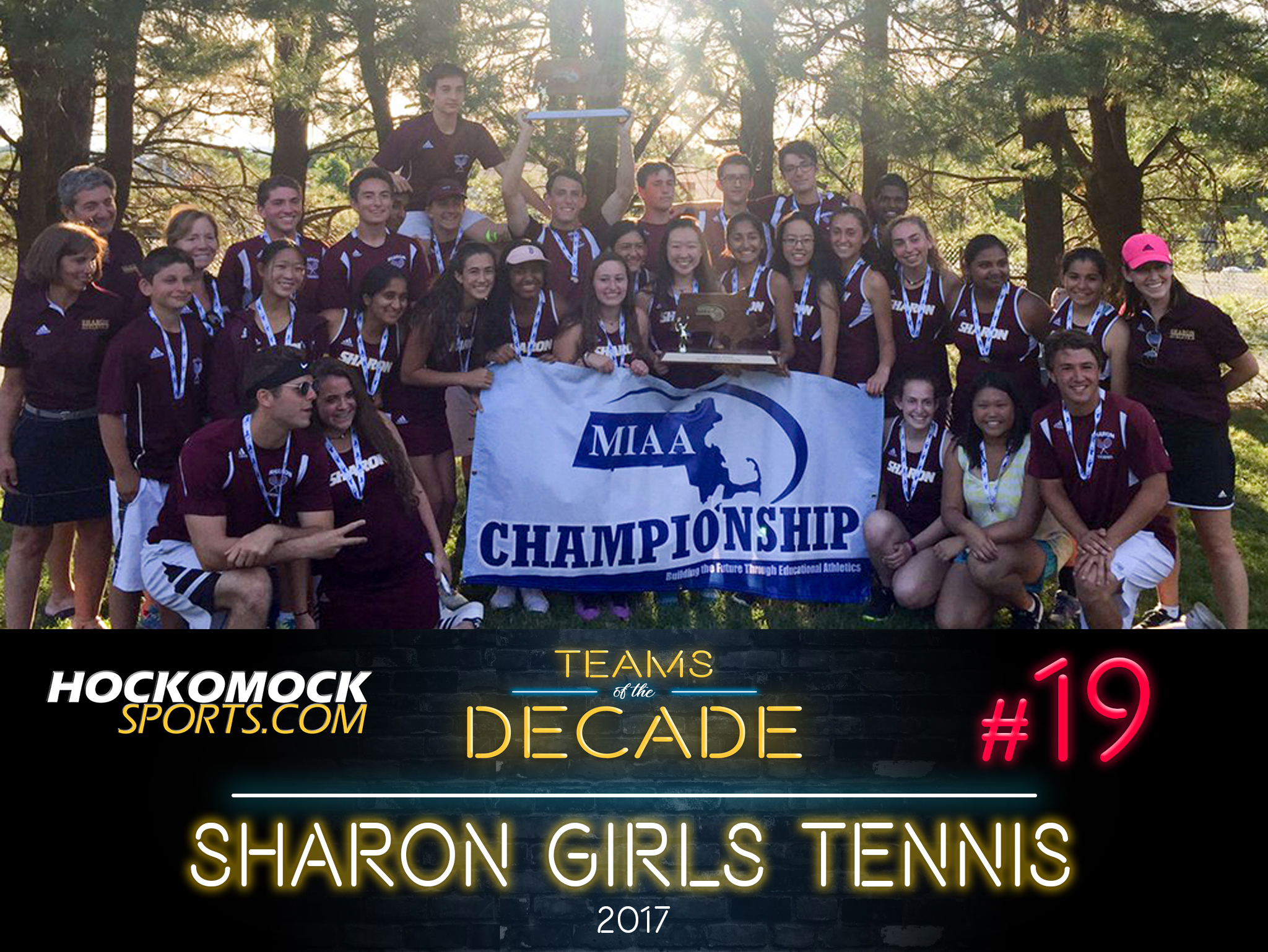 Sharon girls tennis