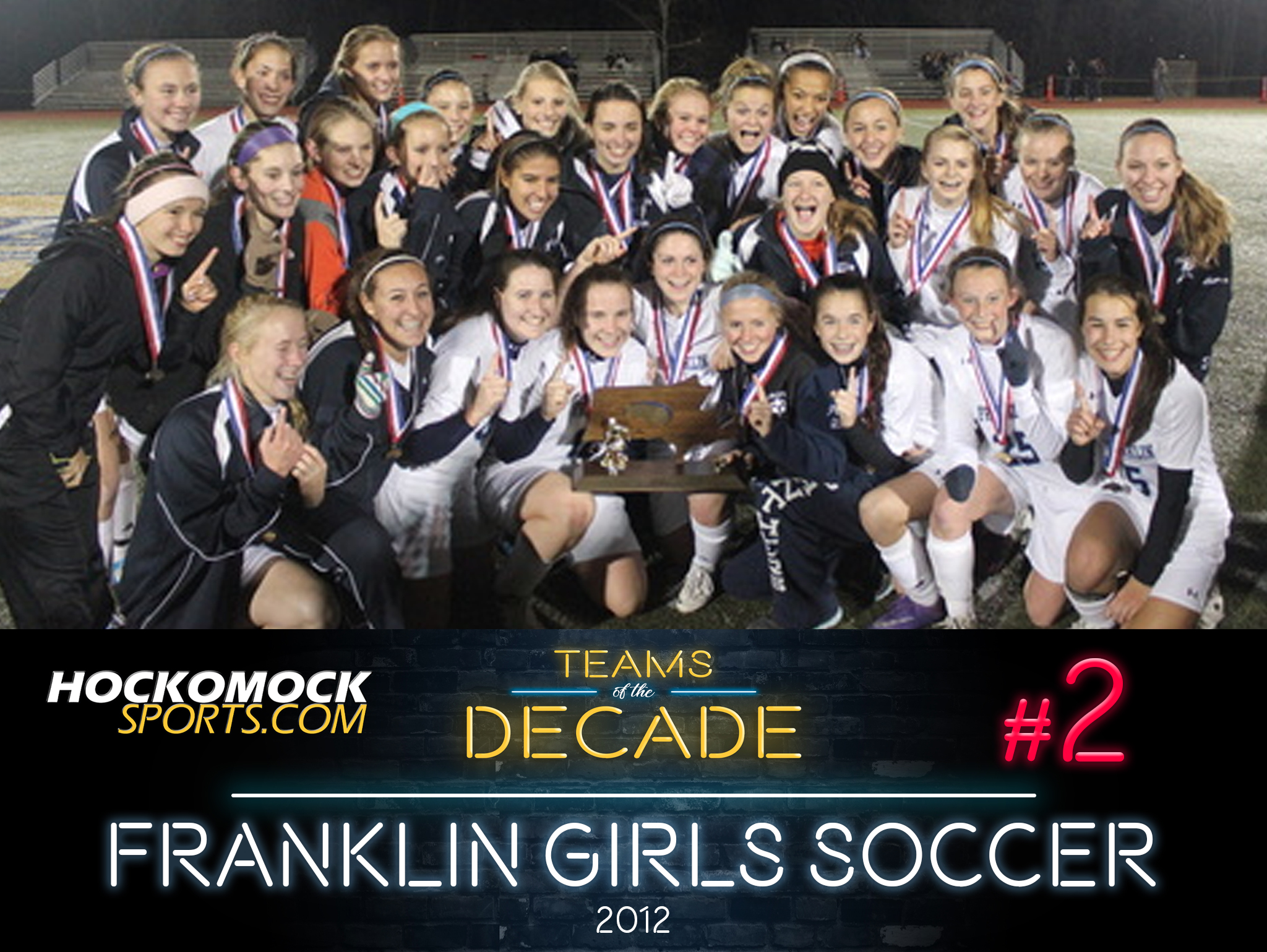 HockomockSports.com: Teams of the Decade #2: 2012 Franklin Girls Soccer