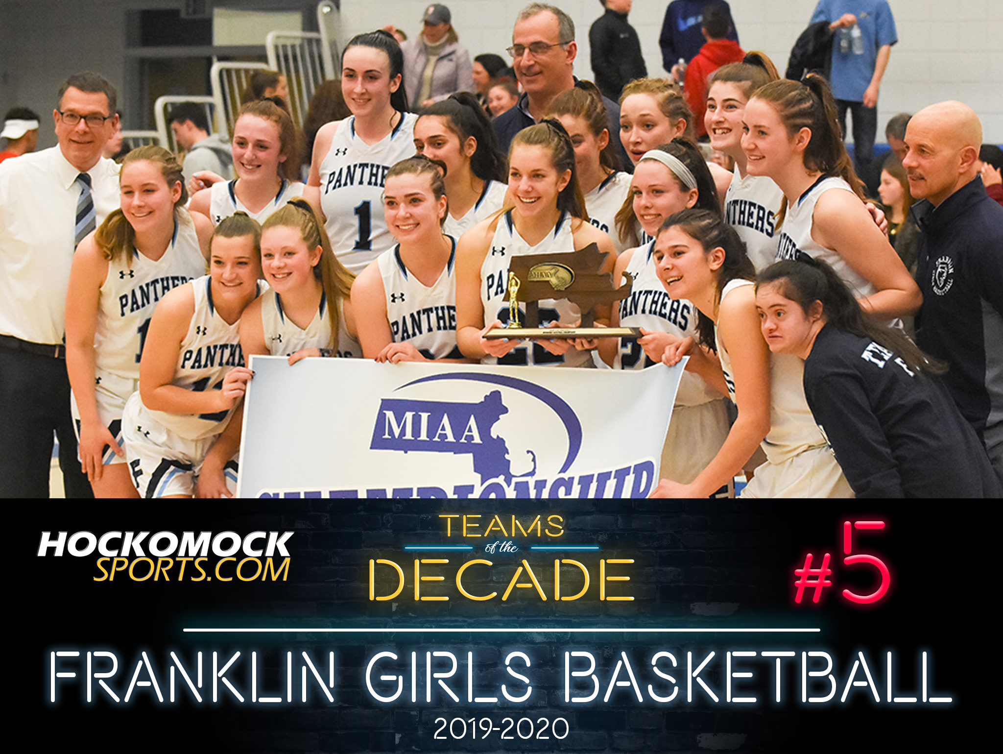 HockomockSports.com: Teams of the Decade #5: 2020 Franklin Girls Basketball