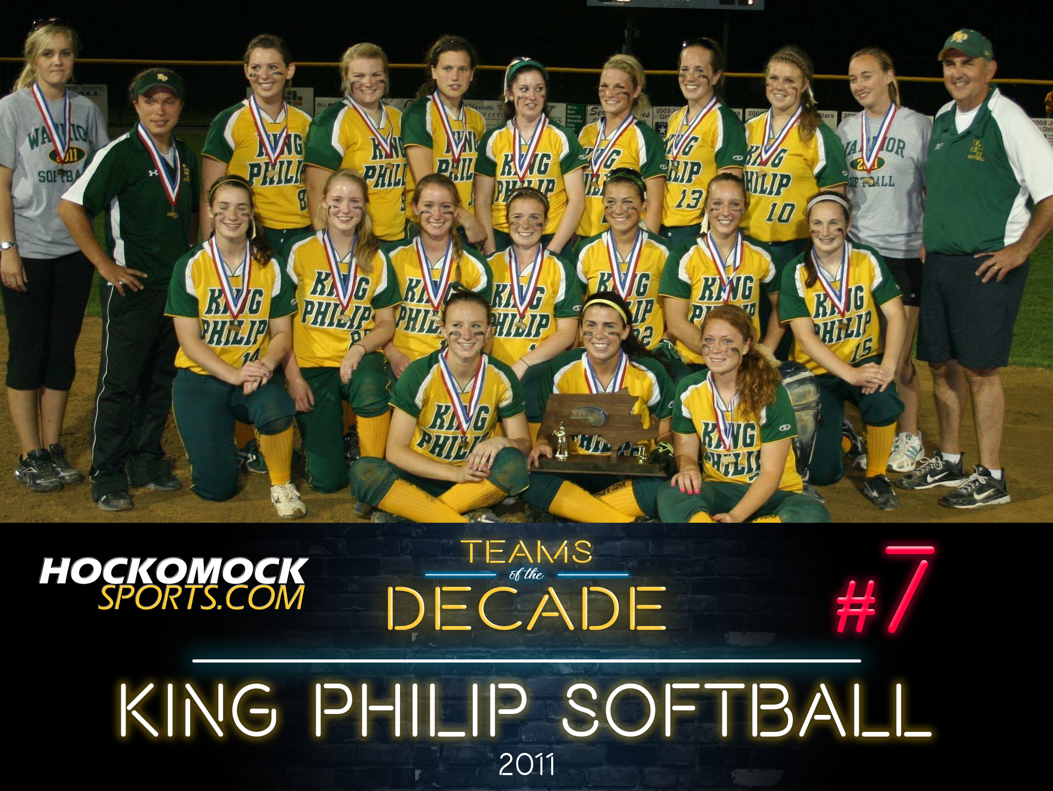 King Philip softball