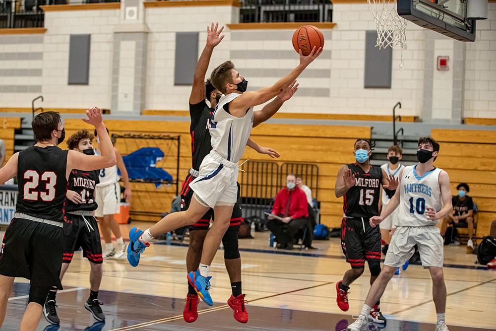 Franklin boys basketball Jake O'Brien