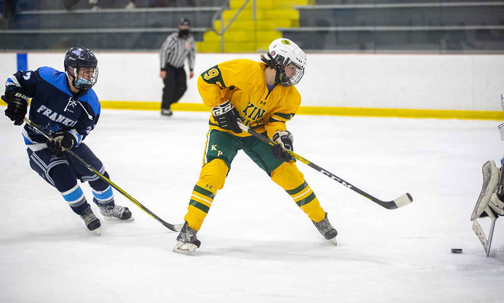 King Philip boys hockey Ian Hill