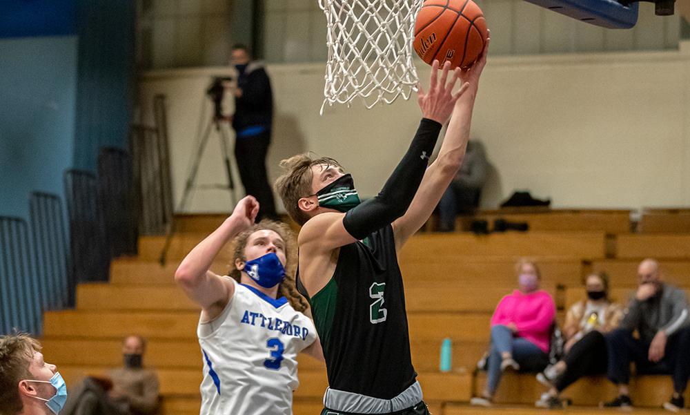 Mansfield boys basketball Matt Boen