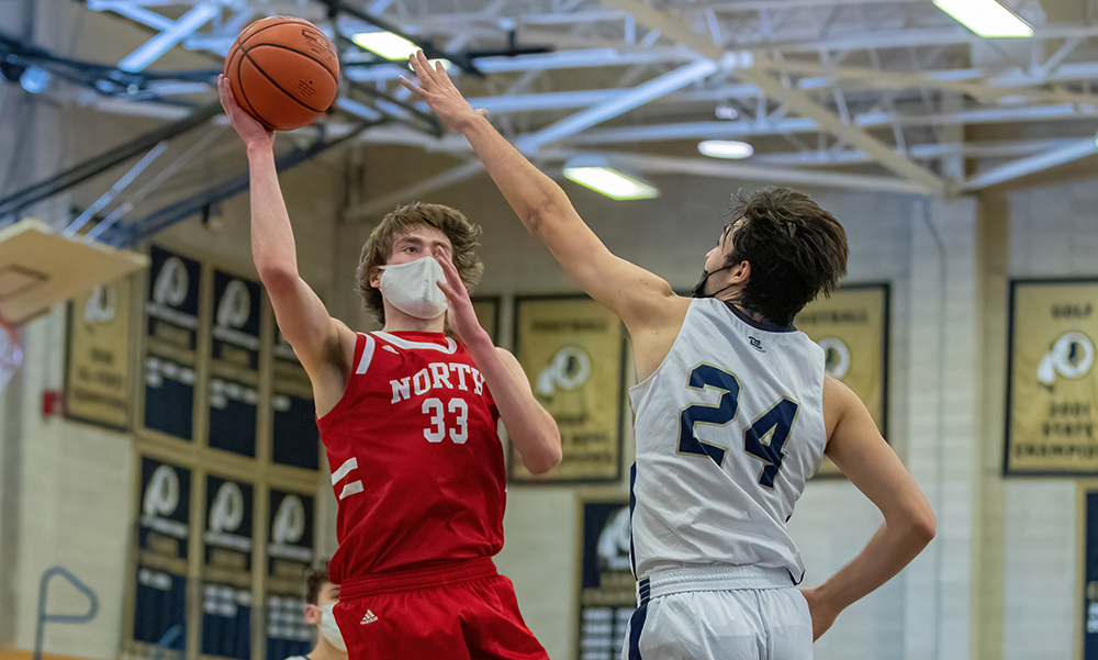 North Attleboro boys basketball George Ladd