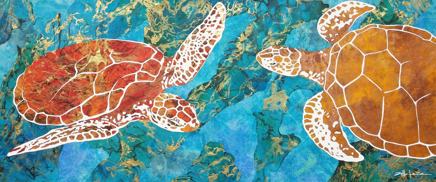 """""""DANCING THE TURTLES OF THE DEEP"""""""