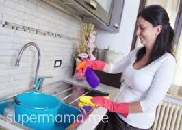 تنظيف حوض المطبخ