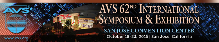 AVS 62nd International Symposium and Exhibition