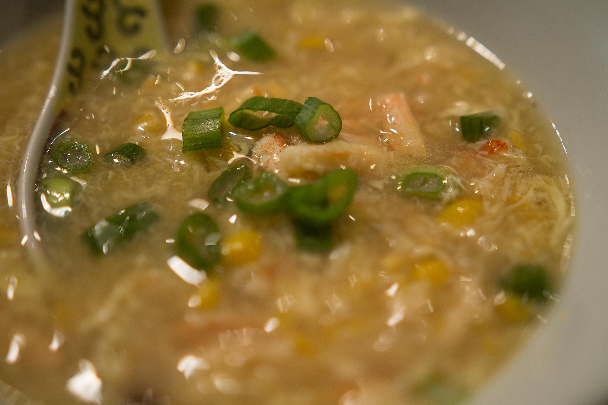 Sweet Corn Crab Soup