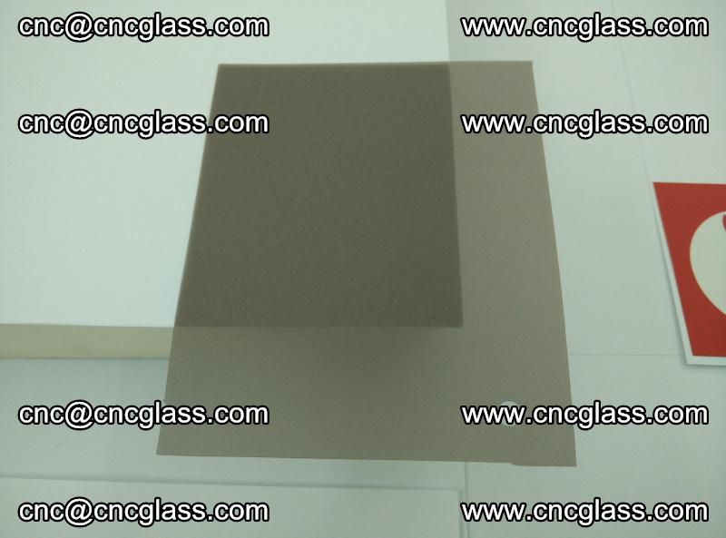 EVA glass interlayer film foil, transparent tea color (11)