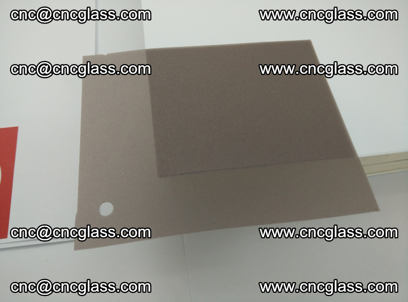 EVA glass interlayer film foil, transparent tea color (15)