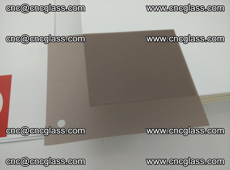 EVA glass interlayer film foil, transparent tea color (17)