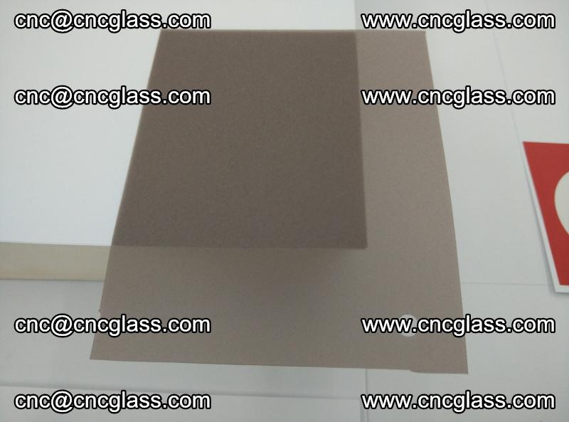 EVA glass interlayer film foil, transparent tea color (5)