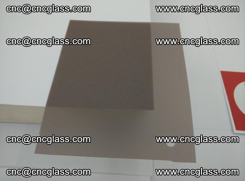 EVA glass interlayer film foil, transparent tea color (7)