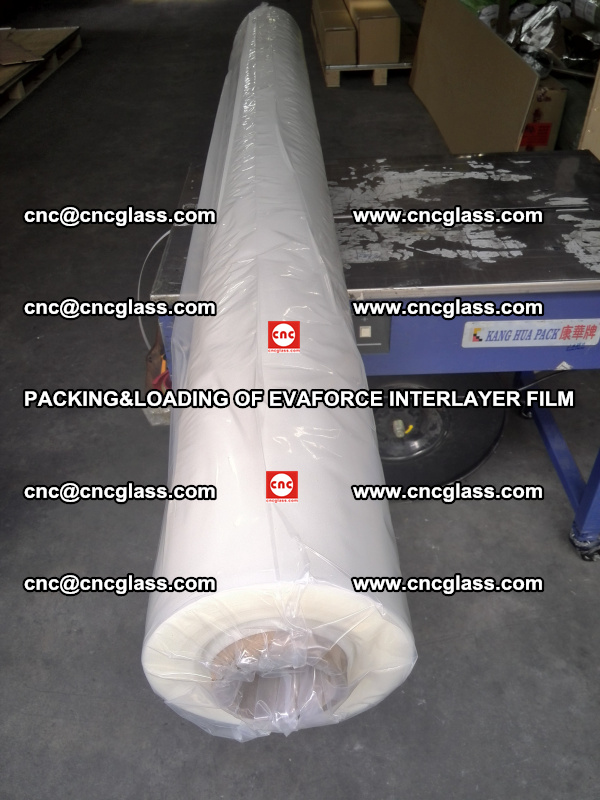 PACKING&LOADING OF EVAFORCE INTERLAYER FILM for safety laminated glass (1)