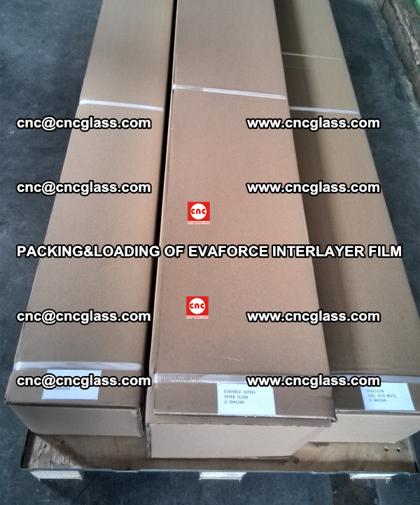 PACKING&LOADING OF EVAFORCE INTERLAYER FILM for safety laminated glass (7)