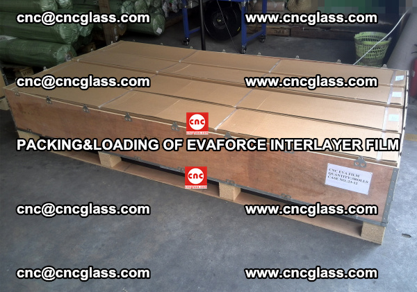 PACKING&LOADING OF EVAFORCE INTERLAYER FILM for safety laminated glass (8)