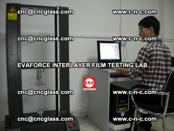 Quality Control of EVAFORCE SUPER CLEAR INTERLAYER FILM (2)