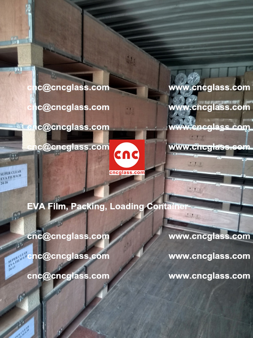 EVA Film, Package, Loading Container, Laminated Glass, Safety Glazing (12)