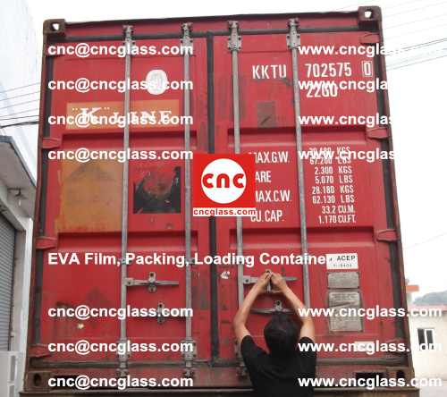 EVA Film, Package, Loading Container, Laminated Glass, Safety Glazing (2)