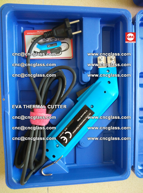EVA THERMAL CUTTER, Cleaning EVA laminated glass edges (21)