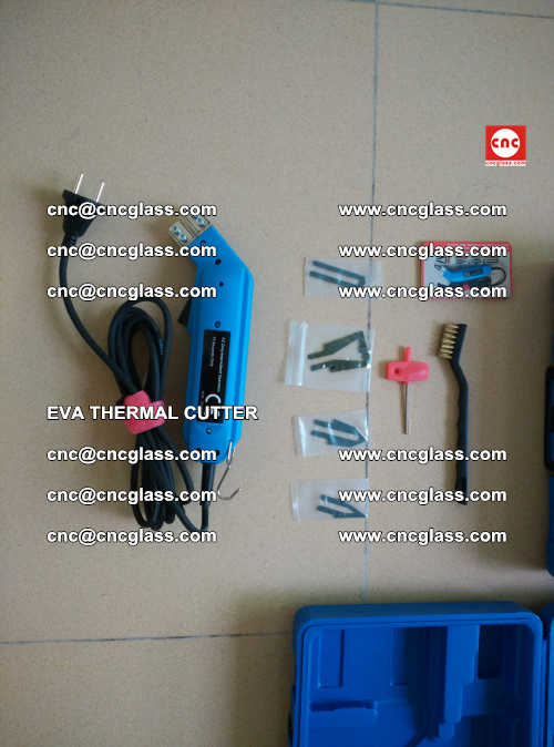EVA THERMAL CUTTER, Cleaning EVA laminated glass edges (43)